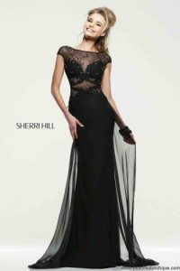 Аренда Sherri Hill 21365 black
