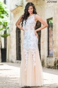 Платье Jovani 24551 white