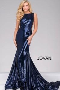 Платье Jovani 33040 navy