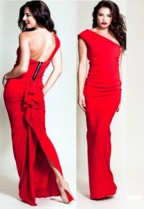 Платье Nicole Bakti 332L red