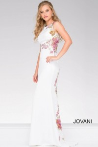 Платье Jovani 33679 white multi