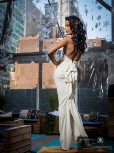 Платье Nicole Bakti 342 ivory