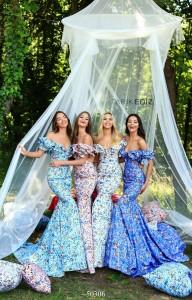 Платье Tarik Ediz 50306