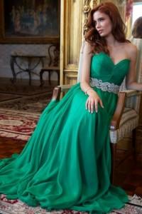 Платье Jovani 88238 emerald