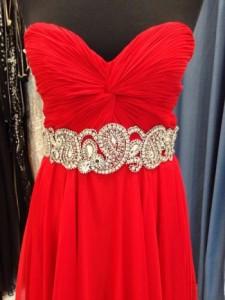 Платье Jovani 88238 red