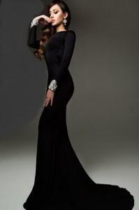 Платье Tarik Ediz 92271 black