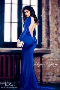 Платье Tarik Ediz 92271 royal