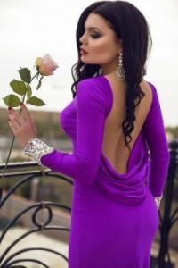 Платье Tarik Ediz 92271 purple