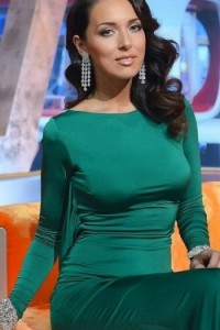 Платье Tarik Ediz 92271 emerald
