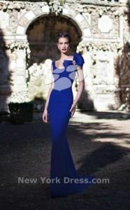 Платье Tarik Ediz 92601 sax