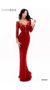 Платье Tarik Ediz 93334