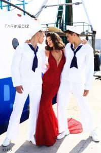 Платье Tarik Ediz 93455