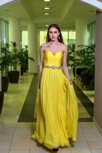 Платье Jovani 159764 yellow