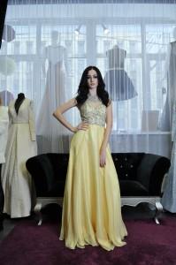 Платье на выпускной Jovani 80862 yellow
