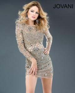 Платье Jovani 4276 nude
