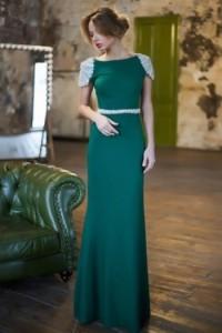 Платье Tarik Ediz 92057 emerald