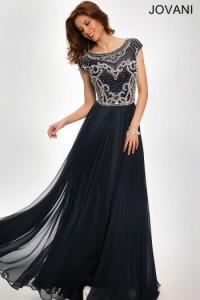 Платье Jovani 21030 navy