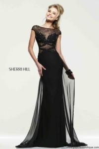 Sherri Hill 21365 black