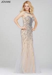 Платье Jovani 33693 silver