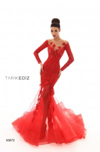 Платье Tarik Ediz 93672