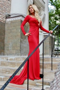 Платье Tarik Ediz 50017