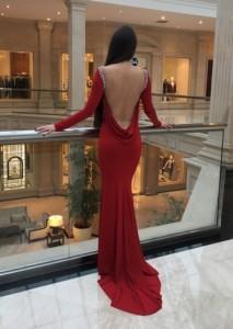 Платье Tarik Ediz 50027
